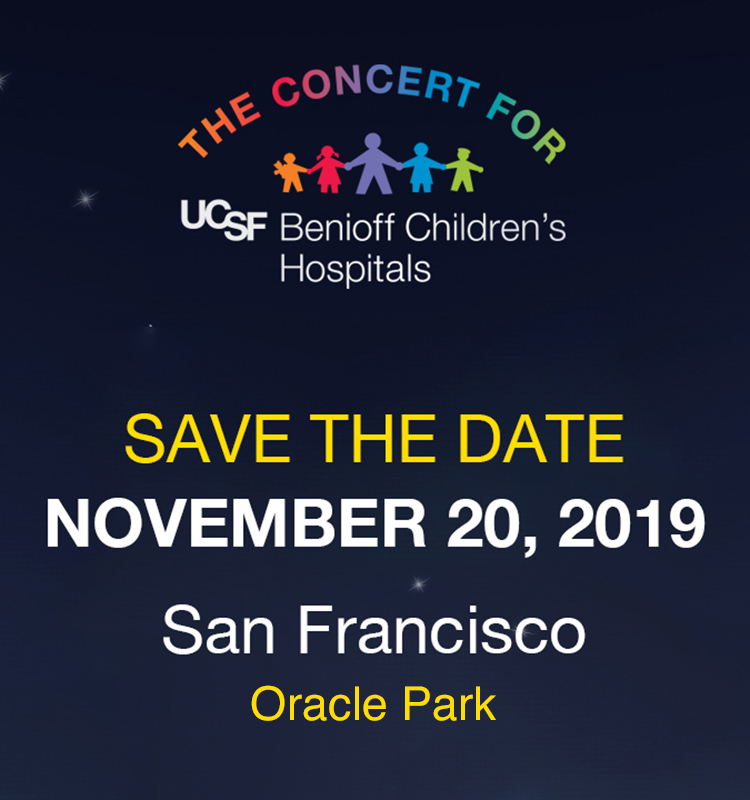 The Concert for UCSF Benioff Children's Hospitals | 2019